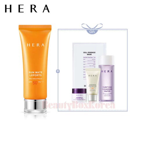 HERA Sun Mate Leports Set 5items [Monthly Limited -APRIL 2018]